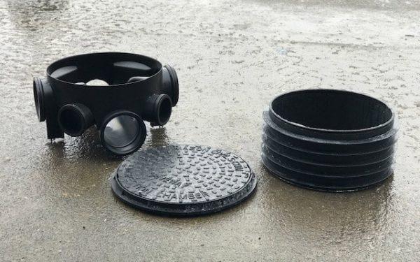 Manhole Bases, Risers and Lids
