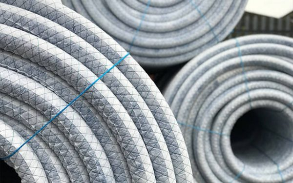 Geotextile Wrapped Drainage Pipe